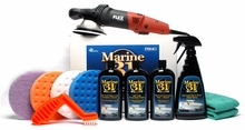 FLEX XC3401 Marine 31 Boat Oxidation Removal Kit Includes FREE Flex Bag - $50 Value!