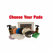FLEX XC3401 VRG Dual Action 6.5 inch Pad Kit - Choose Your Pads! <font color=red><b>FREE BONUS</font></b>