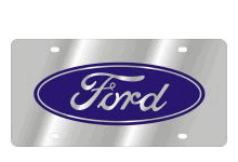 Ford License Plates