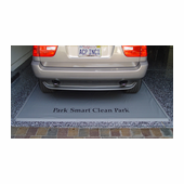 Garage Floor Mat Silver Medium 7.5' x 16' -$21.95 Shipping