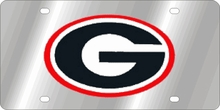 Georgia Bulldogs NCAA Team License Plate