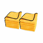 Gold Plush Jr. Microfiber Towel 12 Pack