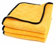 Gold Plush Jr. Microfiber Towel 3 Pack