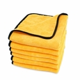 Gold Plush Jr. Microfiber Towel 6 Pack