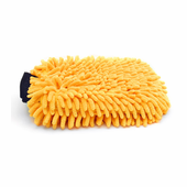 Gold Plush Micro-Chenille Wash Mitt