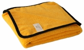 Gold Plush Microfiber Towel, 16 x 24 inches