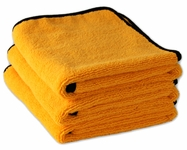 Gold Plush XL Microfiber Towel, 25 x 36, 3 Pack