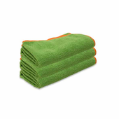 Green SilverClean Interior Detailing Towel, 16 x 16 inches � 3 Pack