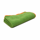 Green SilverClean Interior Detailing Towel, 16 x 16 inches