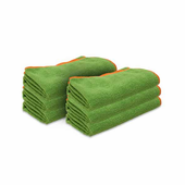 Green SilverClean Interior Detailing Towel, 16 x 16 inches � 6 Pack