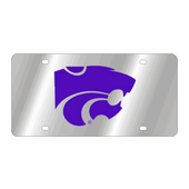 Kansas Wildcats NCAA Team License Plate