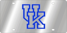 Kentucky Wildcats NCAA Team License Plate