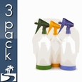 Kwazar Mercury Pro + 1 Liter Spray Bottle (33 oz) - 3 Pack