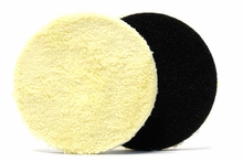Lake Country 4 1/4 Inch Ultra-Fiber Dual Action Microfiber Pad (2-Pack)