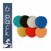 Lake Country 4 Inch CCS Pads 6 Pack - You Pick!
