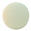 Lake Country Kompressor White Polishing Foam Pad, 7 inches
