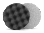 Lake Country Waffle Pro 4 inch Black Finishing Pad - LC-WP-74400