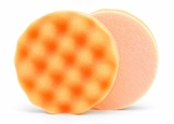 Lake Country Waffle Pro 4 inch Orange Heavy Polishing Pad - LC-WP-24400