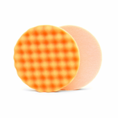 Lake Country Waffle Pro 6.5 inch Orange Heavy Polishing Pad - LC-WP-24650