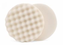 Lake Country Waffle Pro 6.5 inch White Compounding Pad - LC-WP-64650