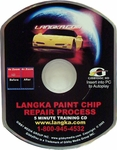 LANGKA Paint Chip Repair Process 5 Minute Training CD