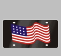 Lazer-Tag� License Plates