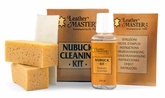 Leather Master Nubuck Cleaning Kit - 150 ml.