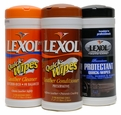 Lexol Quick-Wipes Leather Cleaner, Conditioner, and Vinylex