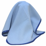 Little Blue Microfiber Drying Towel