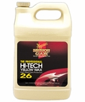 M26 MIRROR GLAZE HI-TECH YELLOW WAX 1 GALLON