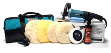 Makita 9227C Rotary Polisher 7.5 Inch Wool Pad Kit