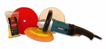 Makita 9237CX2 Rotary Polisher 8.5 inch Pad Kit