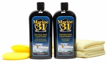 Marine 31 Stainless Steel Polish & Sealant Combo