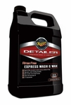 Meguiars D115 Rinse Free Express Wash & Wax 128 oz.