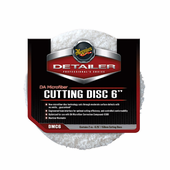 Meguiars DA Microfiber Cutting Discs, 6 inches