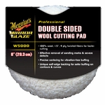 Meguiars Double Sided 100% Wool Cutting Pad