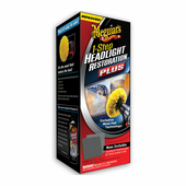 Meguiars Headlight and Clear Plastic Restoration Kit