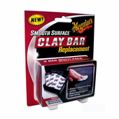 Meguiars Smooth Surface Clay Bar Replacement 3 Pack
