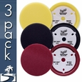 Meguiars Soft Buff 2.0  7 Inch Foam Pads 3 Pack - Your Choice!