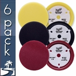 Meguiars Soft Buff 2.0 7 Inch Foam Pads 6 Pack - Your Choice!
