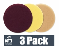 Meguiars Soft Buff 6.5 Inch Foam Pads 3 Pack - Your Choice!