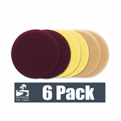 Meguiars Soft Buff 6.5 Inch Foam Pads 6 Pack - Your Choice!