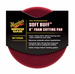 Meguiars Soft Buff W-7000 Foam Cutting Pad 8