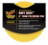 Meguiars Soft Buff W-8000  Foam Polishing Pad 8