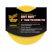 Meguiars Soft Buff W-8000  Foam Polishing Pad 8""