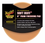 Meguiars Soft Buff W-9000 Foam Finishing Pad 8 inch