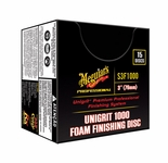 Meguiars Unigrit 1000 3 Inch Finishing Discs, 15 per box