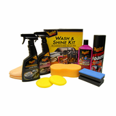 Meguiars Wash & Shine <i>Plus</i> Kit <font color=red>Incredible Value!</font>