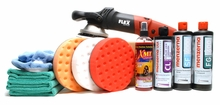 Menzerna FLEX XC3401 Maximum Shine Kit Includes Flex Bag - $50 Value!