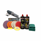Menzerna Porter Cable 7424 XP Ceramic 5.5 Inch Polishing Pad Kit <font color=blue><b>FREE BONUS</font></b>